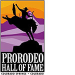 pro rodeo hall of fame logo