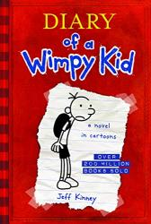 Diary of a Wimpy Kid Book Cover