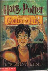 Harry Potter and the Goblet of Fire book jacket