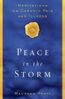 Book Review: Peace In The Storm: Meditations On Chronic Pain And Illness