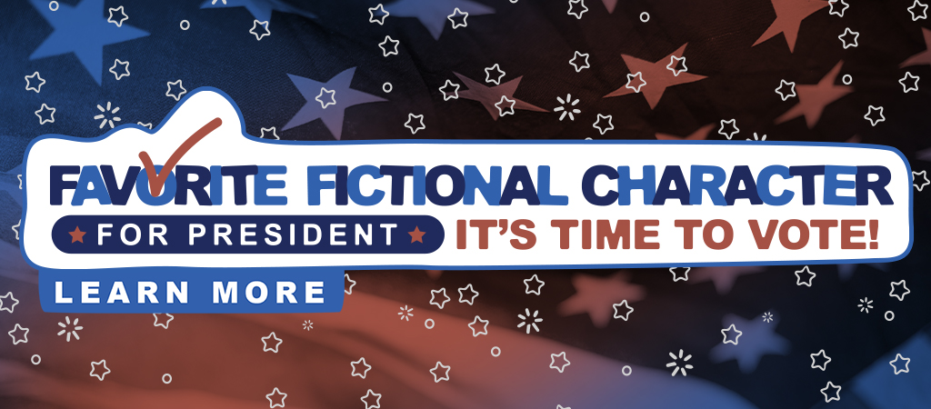 Slide Favorite Fictional Character Time to Vote