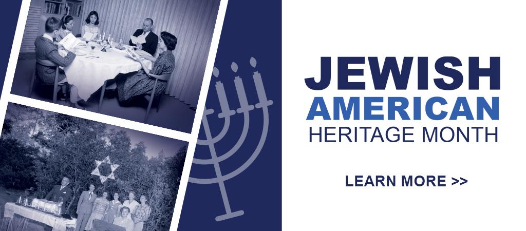 Slide Jewish American Heritage Month