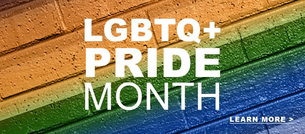 LGBTQ+ Pride Month 2021