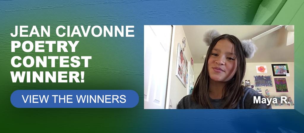 2020 Jean Ciavonne Poetry Contest Winner - Maya