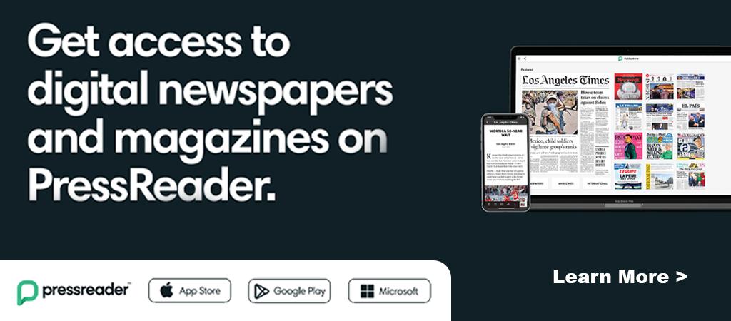 Slide Press Reader