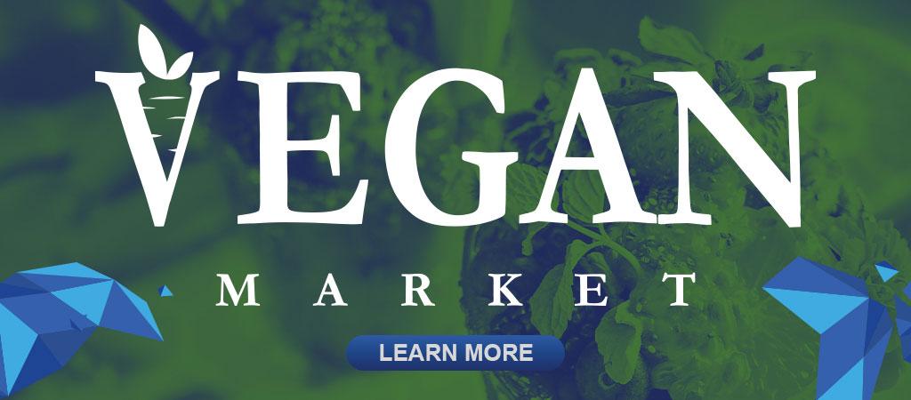 Holiday Vegan Market image