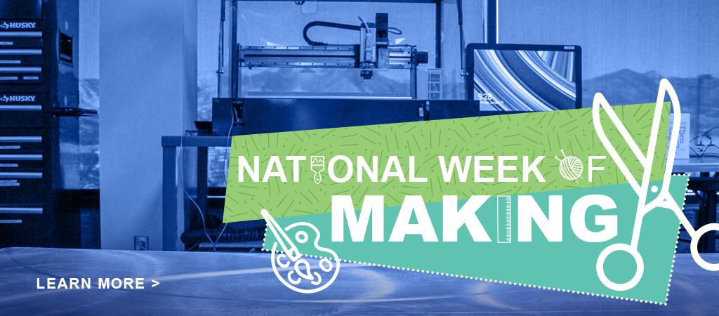 Slide National Week of Making