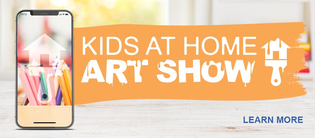 Slide Kids at Home Art Show