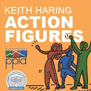 Homeschool: Keith Haring Action Figures