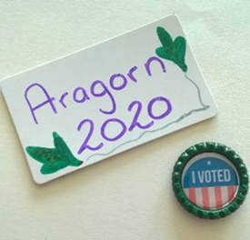 Tween Twist: Election Day Bottle Cap and Fridge Magnets
