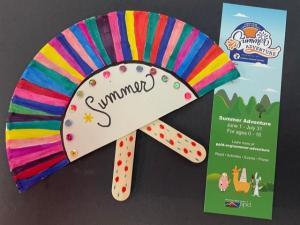 KidsMake: Paper Plate Fans