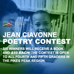 The Jean Ciavonne Poetry Contest