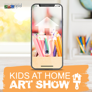 Kids at Home Art Show