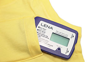 LENA device in vest