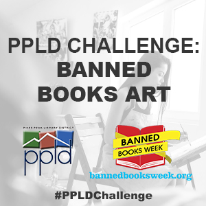 PPLD Challenge: Banned Books Art