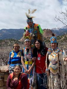 Seven Falls Indian Dancers image