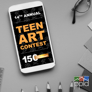 14th Annual PPLD Teen Art Contest