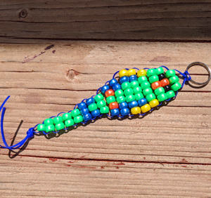 Kids Make: Pony Bead Animal Keychains