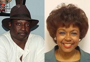 Ron Cousar and Dr. Wanda Tisby-Cousar