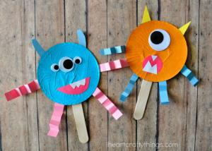 MAKE: Cupcake Liner Monsters
