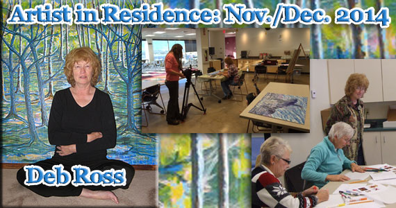 Artist in Residence: Deb Ross