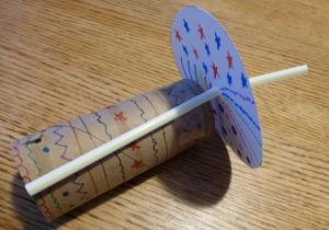 STEM TAKE AND MAKE: Homemade Kaleidoscope