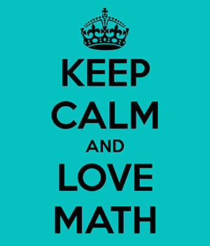 keepcalmandlovemath