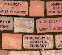 Purchase a Courtyard Paver for East Library, Fountain Library, and Library 21c