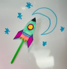 KidsMake: Straw Rockets